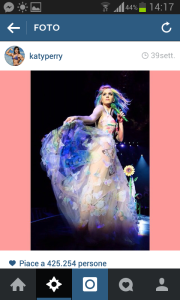 @katyperry multicolor