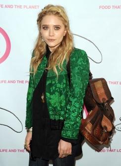 Boho style come MaryKate Olsen e la sua giacca fichissima *occhi a cuore*