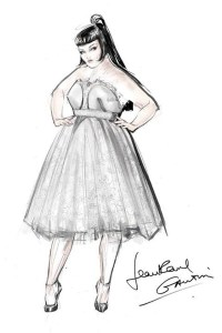 jean-paul-gaultier-beth-ditto-wedding-dress-sketch-vogue-25july13-facebook