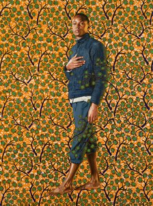 Kehinde-Wiley-Napoleon-In-His-Study-Galerie-Daniel-Templon