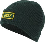 obey-standard-issue-beanie-forest-green-1520-zoom-0 - Copia