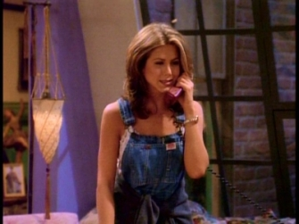 Rachel-overalls-Friends