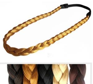Wholesale-braided-font-b-fake-b-font-font-b-hair-b-font-font-b-headband-b